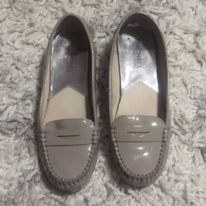 Michael kors gray loafers